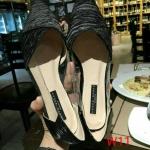 รองเท้าคัทชู ส้นเตี้ย แต่งซาตินลายริ้ว ด้านข้างแต่งพลาสติกใสนิ่มสวยเก๋ ทรงสวย หนังนิ่ม ใส่สบาย แมทสวยได้ทุกชุด