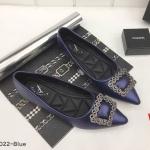 รองเท้าคัทชู ส้นแบน ทรงหัวแหลม แต่งอะไหล่หรูด้านหน้า ทรงสวย หนังนิ่ม ใส่สบาย แมทสวยได้ทุกชุด (K5022)