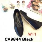 รองเท้าคัทชู ส้นเตารีด สวยเรียบหรู ทรงสวย หนังนิ่ม ส้นสูงประมาณ 2 นิ้ว ใส่สบาย แมทสวยได้ทุกชุด (CA9844)