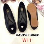 รองเท้าคัทชู ส้นแบน แต่งเฟอร์ประดับคลิสตัลสวยหรูน่ารัก ทรงสวย หนังนิ่ม ใส่สบาย แมทสวยได้ทุกชุด (CA9198)