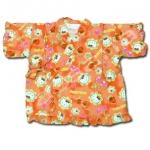 เสื้อจิมเบอิ สีโอรส ลาย Hello Kitty S95