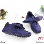 รองเท้าผ้าใบแฟชั่น บุซาตินแต่งโบว์ผูกหน้าสวยน่ารักสไตล์แบรนด์ วัสดุอย่างดี ทรงสวย ใส่สบาย ใส่เที่ยว ออกกำลังกาย แมทสวยเท่ห์ได้ทุกชุด (A18)