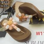 รองเท้าแตะแฟชั่น แบบหนีบ แต่งหินคลิสตัลหลายสีสวยเก๋สไตล์โบฮีเมียน พื้นซอฟคอมฟอตนิ่มเพื่อสุขภาพ สไตล์ฟิตฟลอบ ใส่สบาย แมทสวยได้ทุกชุด (SU6532-468)
