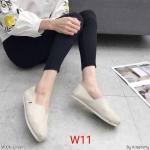 รองเท้าผ้าใบแฟชั่น ทรง slip on สไตล์ TOMs สวยเก๋ ทรงสวย ใส่สบาย แมทสวยได้ทุกชุด (M006)