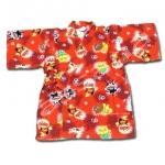 เสื้อจิมเบอิ สีแดง ลาย Anpanman S100