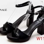 รองเท้าแฟชั่น ส้นสูง แบบสวม รัดข้อ สวยเรียบหรู ทรงสวย ส้นสูงประมาณ 3 นิ้ว แมทสวยได้ทุกชุด