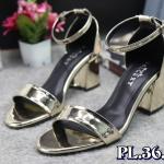 รองเท้าแฟชั่น ส้นสูง รัดข้อ หนังเงาสวยเรียบหรู ทรงสวย หนังนิ่ม ส้นสูงประมาณ 2.5 นิ้ว ใส่สบาย แมทสวยได้ทุกชุด