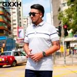 พรีออเดอร์ เสื้อยืด 2xl - 7XL อกใหญ่สุด 54.33 นิ้ว แฟชั่นเกาหลีสำหรับผู้ชายไซส์ใหญ่ แขนสั้น เก๋ เท่ห์ - Preorder Large Size Men Korean Hitz Short-sleeved T-Shirt