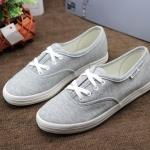 รองเท้าผ้าใบแฟชั่น สวยเรียบเก๋ดูดีสไตล์เกาหลี ลุควินเทจ วัสดุอย่างดี ทรงสวย พื้นยางยืดหยุ่น ใส่สบาย ใส่เที่ยว ออกกำลังกาย แมทสวยเท่ห์ได้ทุกชุด
