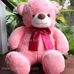ตุ๊กตาหมีเบบี้สีโอรส 100 เซนติเมตร