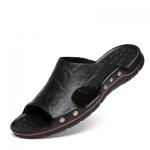 พรีออเดอร์ รองเท้าแตะ เบอร์ 38-48 แฟชั่นเกาหลีสำหรับผู้ชายไซส์ใหญ่ เก๋ เท่ห์ - Preorder Large Size Men Korean Hitz Sandal