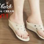 รองเท้าแฟชั่น ส้นเตารีด แบบหนีบ แต่งฉลุวงกลมสวยเก๋ ทรงสวย หนังนิ่ม ใส่สบาย แมทสวยได้ทุกชุด (PT104)