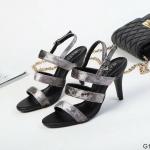 รองเท้าแฟชั่น ส้นสูง รัดส้น หนังกำมะหยี่ ดีไซน์เส้นคาด 3 เส้น สวยเก๋ ทรงสวย เก็บหน้าเท้า หนังนิ่ม ส้นสูงประมาณ 3.5 นิ้ว ใส่สบาย แมทสวยได้ทุกชุด (G1279)