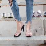 รองเท้าแฟชั่น ส้นสูง แบบสวม 2 ตอนกระชับเท้า คาดหน้าพลาสติกใสนิ่ม ตัดสีตัวรองเท้าสีสดใสสวยเก๋มีสไตล์ หนังนิ่ม ทรงสวย ใส่สบาย ส้นสูงประมาณ 3 นิ้ว แมทสวยได้ทุกชุด