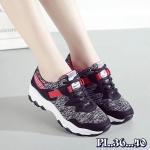 รองเท้าผ้าใบแฟชั่น แต่งลายสวยเท่ห์สไตล์เกาหลี วัสดุอย่างดี ทรงสวย ใส่สบาย ใส่เที่ยว ออกกำลังกาย แมทสวยเท่ห์ได้ทุกชุด