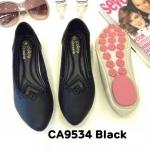 รองเท้าคัทชู ส้นแบน แต่งขอบสวยเก๋ ทรงสวย หนังนิ่ม ใส่สบาย แมทสวยได้ทุกชุด (CA9534)