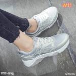 รองเท้าผ้าใบแฟชั่น แต่งลายสวยเท่ห์สไตล์แบรนด์ วัสดุอย่างดี ทรงสวย ใส่สบาย ใส่เที่ยว ออกกำลังกาย แมทสวยเท่ห์ได้ทุกชุด (1727)