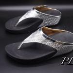 รองเท้าแตะแฟชั่น แบบหนีบ แต่งหนังลายสานสวยเก๋ พื้นซอฟคอมฟอตนิ่มสไตล์ฟิตฟลอบ ใส่สบายมาก แมทสวยได้ทุกชุด