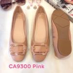 รองเท้าคัทชู ส้นแบน แต่งอะไหล่เข็มขัดสวยเก๋ ทรงสวย หนังนิ่ม ใส่สบาย แมทสวยได้ทุกชุด (CA9300)