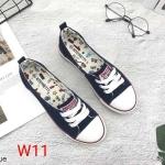 รองเท้าผ้าใบแฟชั่น ทรง slip on สไตล์ converse สวยเก๋ วัสดุอย่างดี ทรงสวย ใส่สบาย ใส่เที่ยว ออกกำลังกาย แมทสวยเท่ห์ได้ทุกชุด (969)