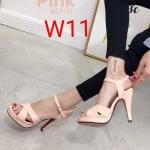 รองเท้าแฟชั่น ส้นสูง รัดส้น คาดหน้าสายไขว้สวยเก๋ ทรงสวย ส้นสูงประมาณ 5 นิ้ว เสริมหน้า 1 นิ้ว ใส่สบาย แมทสวยได้ทุกชุด (851-11)