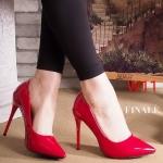 รองเท้าคัทชู ส้นสูง หนังเงาสวยเรียบหรู ทรงสวยเพรียว ส้นสูงประมาณ 4.5 นิ้ว ใส่ออกงาน สวยโดดเด่น แมทสวยได้ทุกชุด (FH-625)