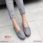 รองเท้าคัทชู ทรง loafer แต่งหน้าลายสวยเก๋ หนังนิ่ม พื้นนิ่ม พื้นยางยืดหยุ่น ทรงสวย ใส่สบาย แมทสวยได้ทุกชุด (N919)