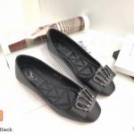 รองเท้าคัทชู ส้นแบน แต่งอะไหล่สวยหรู หนังนิ่ม ใส่สบาย ทรงสวย แมทสวยได้ทุกชุด (K5016)