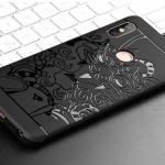 เคส Xiaomi Redmi Note 5 / Redmi Note 5 Pro TPU สีดำ (ลายมังกร)