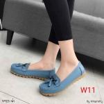 รองเท้าคัทชู ส้นแบน ทรง loafer แต่งอะไหล่และพู่หนังสวยน่ารัก หนังนิ่ม พื้นนิ่ม ทรงสวย ใส่สบาย แมทสวยได้ทุกชุด (N923)