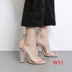 รองเท้าแฟชั่น ส้นสูง รัดข้อ แบบสวม คาดหนาพลาสติกใสนิ่ม ส้นใสแต่งอะไหล่ด้านในสุดเก๋ ซิปหลังใส่ง่าย ส้นสูงประมาณ 4 นิ้ว ใส่สบาย แมทสวยได้ทุกชุด