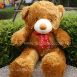 ตุ๊กตาหมีโบว์แดง 0.7 เมตร