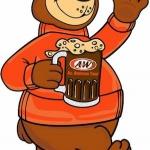 A&W พี่หมีถือรูทเบียร์