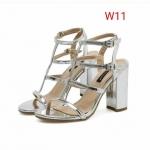 รองเท้าแฟชั่น ส้นสูง รัดข้อ หนังเงาดีไซน์หนังเส้นสวยเก๋ ส้นสูงประมาณ 4 นิ้ว ใส่สบาย แมทสวยได้ทุกชุด