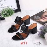 รองเท้าแฟชั่น ส้นสูง แบบสวย แต่งลายฉลุดอกไม้สวยหวานดูดี หนังนิ่ม พื้นนิ่ม งานสวย ส้นสูงประมาณ 3 นิ้ว ใส่สบาย แมทสวยได้ทุกชุด (G12-88)