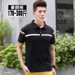 พรีออเดอร์ เสื้อเชิ้ต แขนยาว 2XL - 7XL อกใหญ่สุด 57.48 นิ้ว แฟชั่นเกาหลีสำหรับผู้ชายไซส์ใหญ่ แขนสั้น เก๋ เท่ห์ - Preorder Large Size Men Korean Hitz Short-sleeved T-Shirt