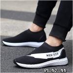 รองเท้าผ้าใบแฟชั่น แบบไร้เชือก แต่งลายสวยเท่ วัสดุอย่างดีผ้าหนานุ่ม ทรงสวย ใส่สบาย ใส่เที่ยว ออกกำลังกาย แมทสวยเท่ห์ได้ทุกชุด
