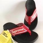 รองเท้าแตะแฟชั่น แบบหนีบ แต่งลายสายสวยเก๋สไตลแบรนด์ พื้นซอฟคอมฟอตนิ่มสไตล์ฟิตฟลอบ ใส่สบายมาก แมทสวยได้ทุกชุด