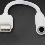 สายแปลง Adapter Type-C เป็น Audio ต่อหูฟัง 3.5 mm