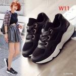 รองเท้าผ้าใบแฟชั่น แต่งโบว์ผููกสวยหวาน วัสดุอย่างดี ทรงสวย ใส่สบาย แมทสวยเท่ห์ได้ทุกชุด (L26)