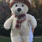 ตุ๊กตาหมีสโนว์ ขนาด 16 นิ้ว