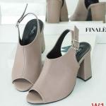 รองเท้าแฟชั่น ส้นสูง รัดส้น ดีไซน์หุ้มหน้าเท้าเปิดนิ้วสวยเก๋ ทรงสวย หนังนิ่ม ส้นสูงประมาณ 4 นิ้ว ใส่สบาย แมทสวยได้ทุกชุด