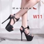 รองเท้าแฟชั่น ส้นสูง แบบสวม รัดส้น สายคาดหน้าแต่งโบว์สวยเก๋ ทรงสวย หนังนิ่ม ส้นสูงประมาณ 6 นิ้ว เสริมหน้า 2 นิ้ว ใส่ออกงาน ปาร์ตี้ สวยโดดเด่น แมทสวยได้ทุกชุด (17-2294)