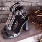 รองเท้าแฟชั่น แบบสวม ส้นสูง รัดข้อ สวยเรียบเก๋ หนังนิ่ม ส้นสูงประมาณ 4 นิ้ว ใส่สบาย แมทสวยได้ทุกชุด