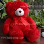 ตุ๊กตาหมีสีแดง 1.0 เมตร