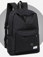 Back pack(กระเป๋าเป้ สะพายหลัง) BA081 สีดำ พร้อมส่ง