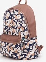 Back pack(กระเป๋าเป้ สะพายหลัง) BA073 Flower พร้อมส่ง สำเนา