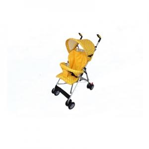 เกรซคิดส์รถเข็นเด็กก้านร่ม รุ่นอีซี่โก (มีเบาะ) สีเหลืองยกลัง(2 ชิ้น)