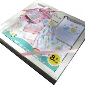 Baby Gift Set 8 PCS. Pink