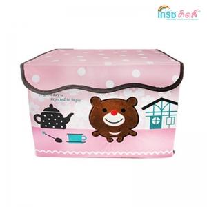 เกรซคิดส์กล่องใส่ของเอนกประสงค์ ลายหมีน้อย ยกลัง(4 ชิ้น)